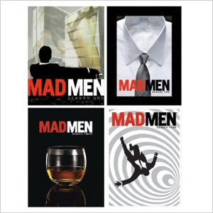 Mad Men DVDs, Seasons 1 through 5