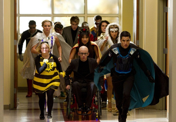 Glee's super hero club