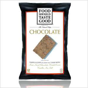 Foods Should Taste Good Chocolate Tortilla Chips