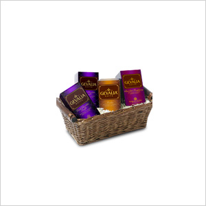 Gevalia Tis the Season Chocolate Coffee Basket
