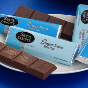 See's Candies Holiday Sugar Free Candy Bar Gift Packs
