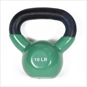 green kettle bell