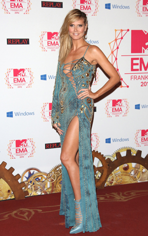 Heidi Klum at MTV EMAs