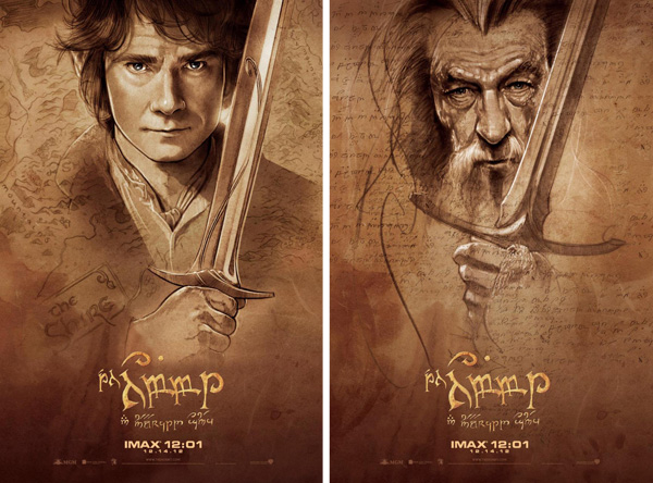Two Hobbit posters to rule them all