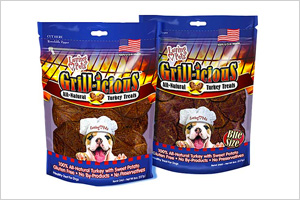 Grill-icious 100% all-natural Turkey Treats