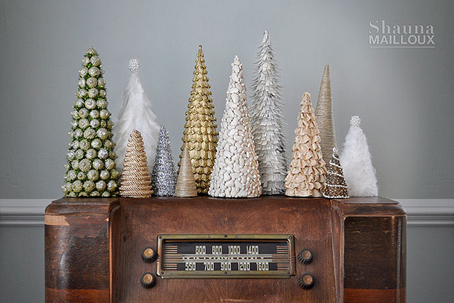 create these holiday chargers original pin 5 handmade christmas trees