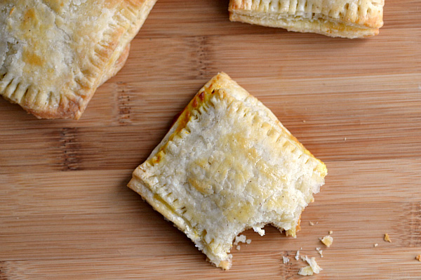 Easy fall-inspired toaster pastries