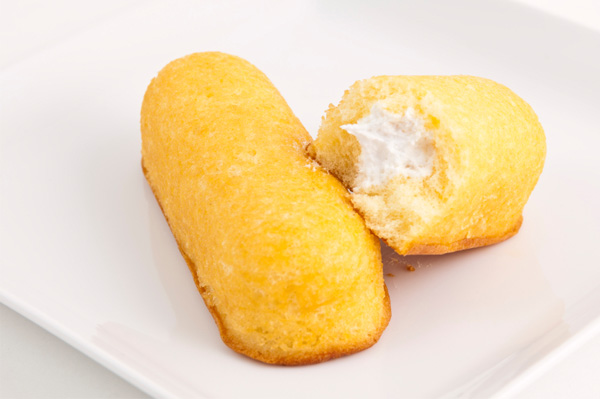 homemade twinkie