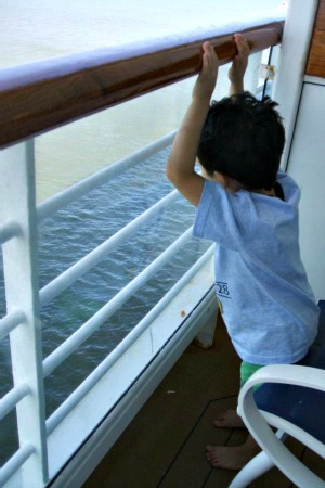 Disney Magic Cruise - Verandah