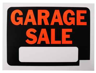 garage sale