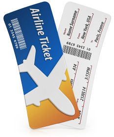 Airplane ticket