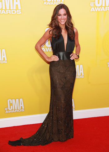 Jana Kramer - Best Dressed - 2012 CMA Awards