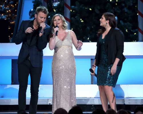 Pregnant Jennifer Nettles and Lady Antebellum