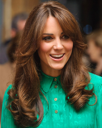 Is it just us, or does Kate Middleton's new bangs-centric hairstyle ...