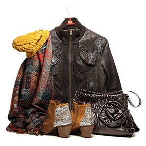 chic and classic winter clothing