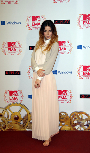Lena Meyer-Landrut at the MTV EMAs