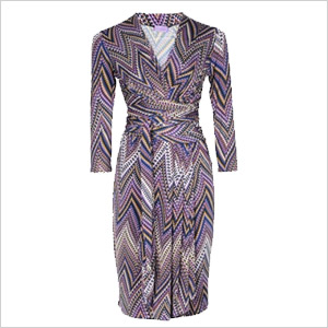 Liz Price wraparound dress