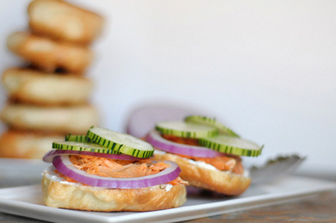 homemade smoked salmon bagel recipe
