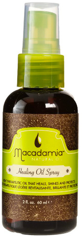 Macademia oil spray