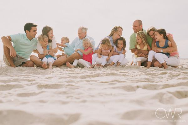 Beach family photo