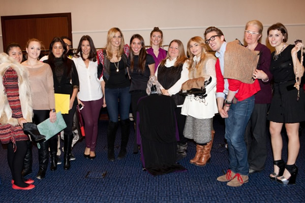 Mary Alice Stephenson and her glam squad