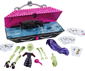 Monster High Create-A-Monster Design Labe