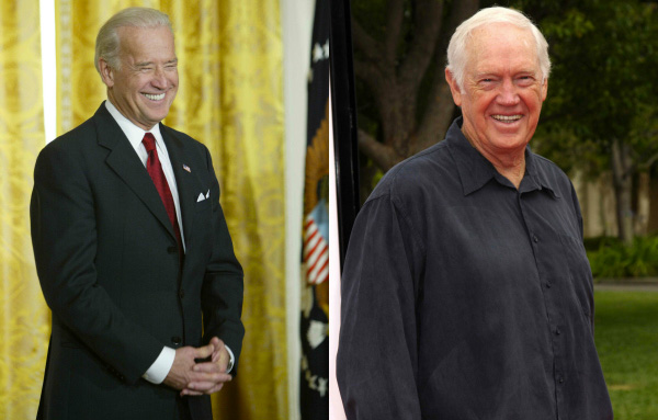 Joe Biden and Ronny Cox