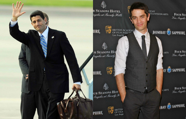 Paul Ryan and James Frain