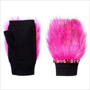Juicy Couture Fur Hand Warmers