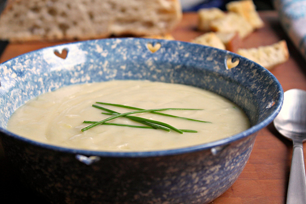 Potato leek soup