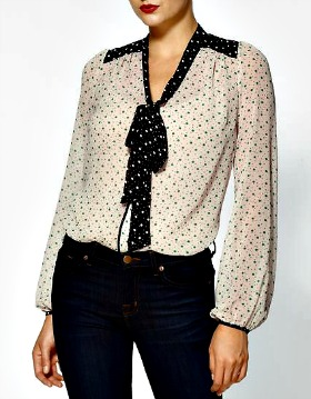 Incorporate polka dots in your closet