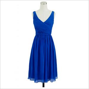 classic silk chiffon dress