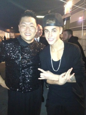 Psy vs. Justin Bieber