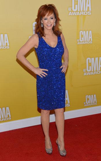 Reba McEntire - Best Dressed - 2012 CMA Awards