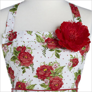 Floral apron