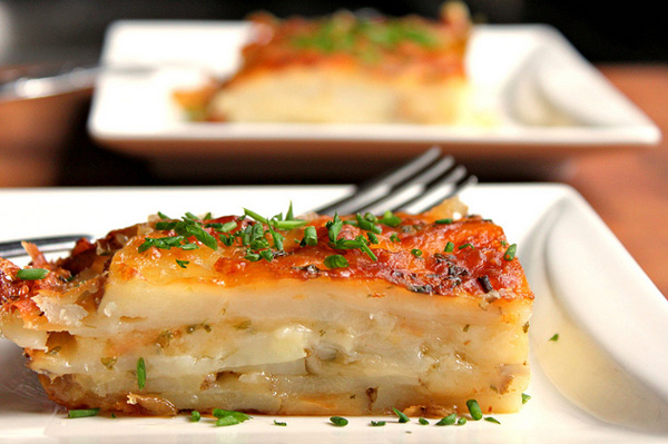 Bacon and Tomatoes : Recipe Scalloped Potatoes Recipes for Potatoes ...