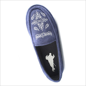 Snoop Dogg Velvet House Shoes