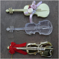 guitar-themed ornaments