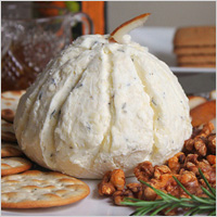 white gourd cheese ball.