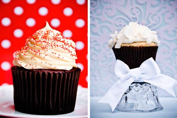 Deck out your holiday cupcakes