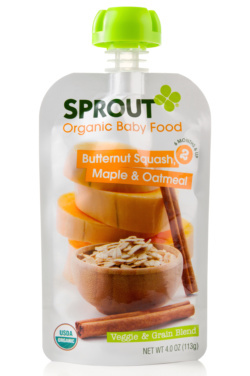 Sprout Foods organic baby food