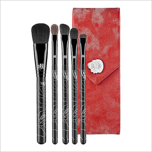 Kat Von D 5-Piece Brush Set with Case