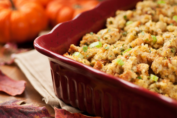 A sweet twist on stuffing