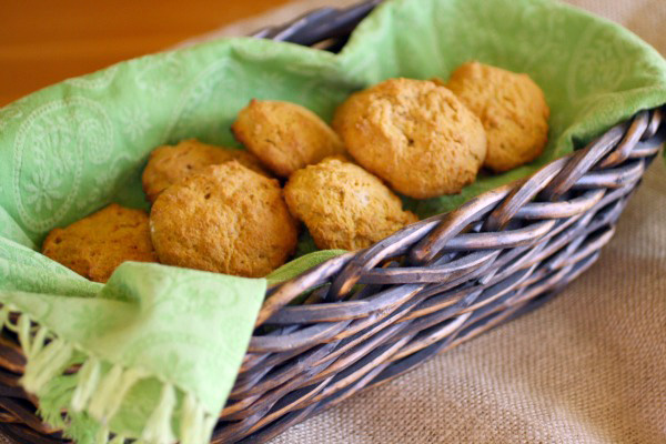Sweet Potato-Rosemary Biscuits
