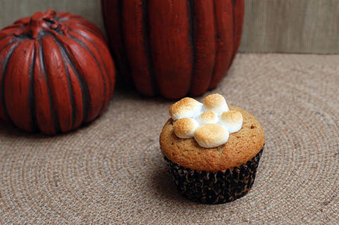 Sweet potato cupcake recipe