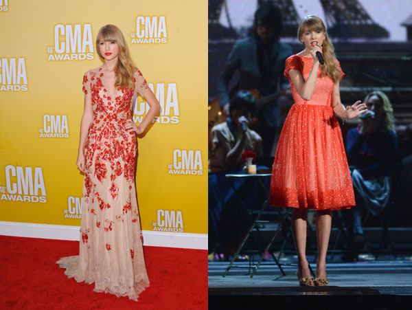 Taylor Swift - Best Dressed - 2012 CMA Awards