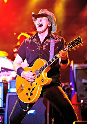 Ted Nugent lets loose on Twitter