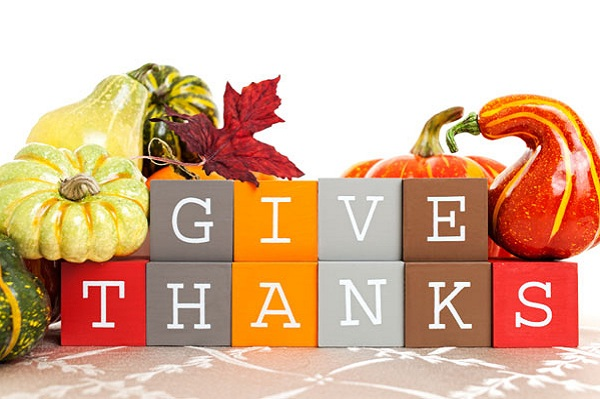 5 ways to give thanks