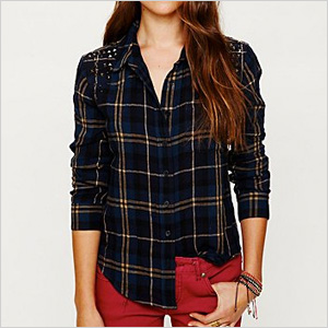 Plaid shirts