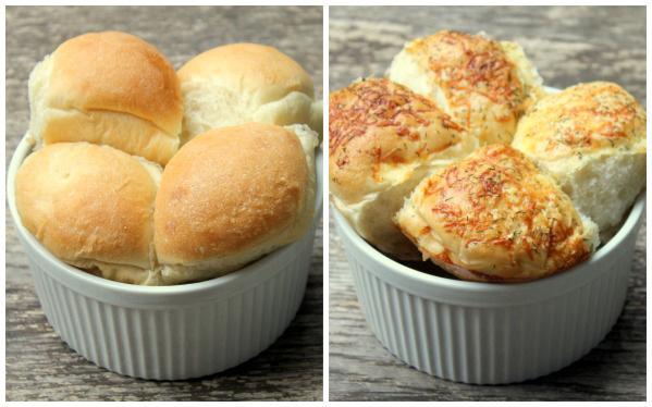 Garnish rolls with sprinkles of cheese, nuts or seeds for extra pizzazz!